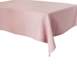 Lniany obrus dusty pink